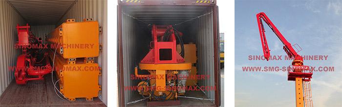 construction hydraulic floor crane