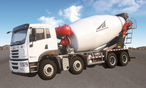 Large Concrete Mixer Truck